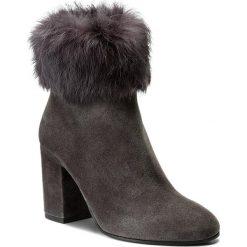 Botki FABI - FD5018 Rinoceronte. Szare buty zimowe damskie Fabi, ze skóry, na obcasie. W wyprzedaży za 969,00 zł.