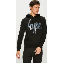 Hype - Bluza. Brązowe bluzy męskie Hype, l, z nadrukiem, z bawełny, z kapturem. Za 239,90 zł.