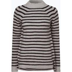 Review - Sweter damski, szary. Szare swetry klasyczne damskie marki Review, l, z tkaniny, z okrągłym kołnierzem. Za 159,95 zł.