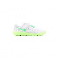 Buty Dziecko Nike  Flex Experience 5 844993-100. Białe trampki chłopięce Nike. Za 111,30 zł.