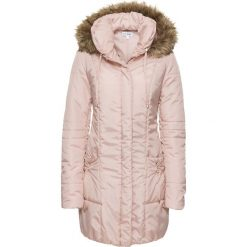 Płaszcze damskie pastelowe: Płaszcz bonprix bladoróżowy