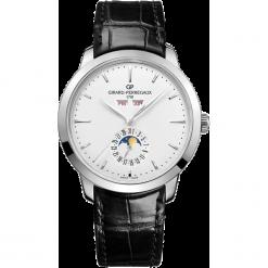 ZEGAREK GIRARD PERREGAUX 1966 AUTOMATIC FULL CALENDAR 49535-11-131-. Białe zegarki męskie GIRARD-PERREGAUX, srebrne. Za 48990,00 zł.