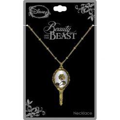 Biżuteria i zegarki: Piękna i Bestia Mirror Necklace Naszyjnik złoty