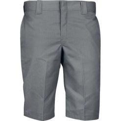 Dickies 13'' Slim Fit Work Short WR803 Krótkie spodenki ciemnoszary. Szare spodenki i szorty męskie marki Dickies, z bawełny. Za 121,90 zł.