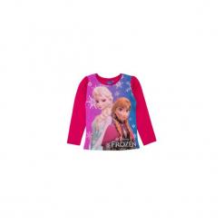 Bluzka dziewczęca z printem Kraina Lodu - Frozen. Różowe bluzki dziewczęce TXM, z motywem z bajki. Za 19,99 zł.