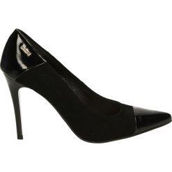 Czółenka - 5325 2683 NER. Czarne buty ślubne damskie Venezia, ze skóry. Za 199,00 zł.