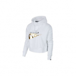 Bluzy Nike  Sportswear Rally AJ0096 100. Szare bluzy damskie Nike, l. Za 294,62 zł.