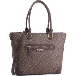 Torebka NOBO - NBAG-F2310-C017 Brązowy. Brązowe torebki klasyczne damskie Nobo, ze skóry ekologicznej. W wyprzedaży za 199,00 zł.