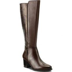 Buty zimowe damskie: Kozaki CAPRICE - 9-25540-39 Dk Brown Comb 329