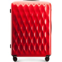 Walizka duża 56-3H-553-30. Czerwone walizki marki Wittchen, z gumy, duże. Za 219,00 zł.