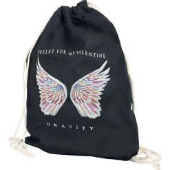 Bullet For My Valentine Gravity Torba treningowa czarny. Czarne torebki klasyczne damskie marki Bullet For My Valentine. Za 62,90 zł.