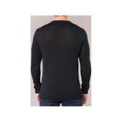 Swetry Armani jeans  GRABOU. Czarne swetry klasyczne męskie marki Armani Jeans, z jeansu. Za 503,20 zł.