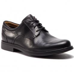 Półbuty CLARKS - UnAldricTieGtx GORE-TEX 26136782 Black Leather. Czarne półbuty skórzane męskie Clarks. W wyprzedaży za 439,00 zł.