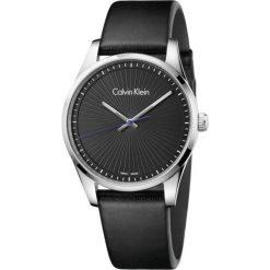 ZEGAREK CALVIN KLEIN K8S211C1. Czarne zegarki męskie marki Calvin Klein, szklane. Za 989,00 zł.