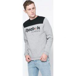 Reebok Classic - Bluza. Szare bluzy męskie rozpinane marki MEDICINE, l, z bawełny, bez kaptura. W wyprzedaży za 159,90 zł.