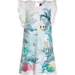 Sukienki dziewczęce: Catimini NOMADE ROBE PANNEAU Sukienka z dżerseju nacre