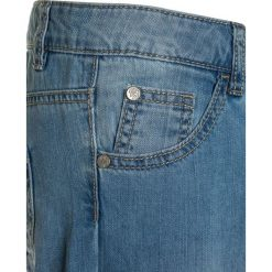 Chinosy chłopięce: Benetton TROUSERS Jeansy Slim Fit blue denim