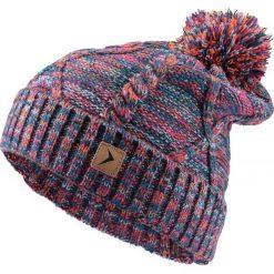 Czapka damska CAD617 - multikolor - Outhorn. Szare czapki zimowe damskie Outhorn, na jesień. Za 34,99 zł.