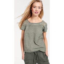 Odzież damska: Koszulka w kolorze khaki