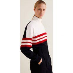 Mango - Bluza Ruby. Czerwone bluzy damskie marki Mango, l, z bawełny, bez kaptura. Za 139,90 zł.