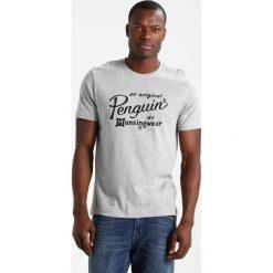 T-shirty męskie z nadrukiem: Original Penguin GRAPHIC Tshirt z nadrukiem rain heather