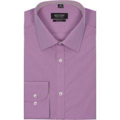 Koszula bexley 1911 długi rękaw slim fit fiolet. Fioletowe koszule męskie na spinki Recman, na lato, m, z bawełny, z klasycznym kołnierzykiem, z długim rękawem. Za 29,99 zł.
