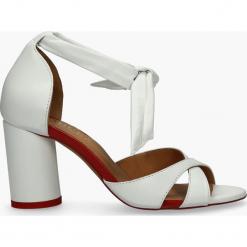 Sandały białe Gulietta. Białe sandały damskie Badura. Za 263,99 zł.