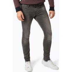 G-Star - Jeansy męskie – Revend, szary. Białe jeansy męskie skinny marki G-Star, z nadrukiem. Za 459,95 zł.