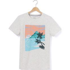Odzież chłopięca: T-shirt z okrągłym dekoltem i krótkimi rękawami