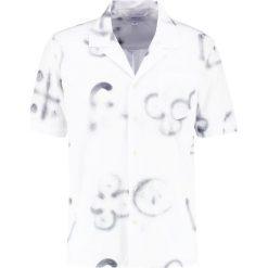Koszule męskie na spinki: Soulland CORNWALL Koszula white