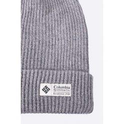 Columbia - Czapka. Szare czapki zimowe męskie marki Columbia, z dzianiny. Za 99,90 zł.