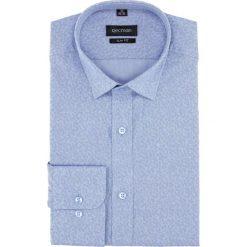 Koszula versone 5005a długi rękaw slim fit niebieski. Szare koszule męskie slim marki Recman, m, z długim rękawem. Za 149,00 zł.