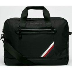 Tommy Hilfiger - Torba na laptopa. Czarne torby na laptopa marki NEWFEEL, z materiału. Za 599,90 zł.