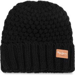 Czapka PEPE JEANS - Elma Hat PL040269 Black 999. Szare czapki zimowe damskie marki Calvin Klein Jeans, na zimę, z jeansu. W wyprzedaży za 109,00 zł.