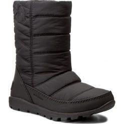 Śniegowce SOREL - Youth Whitney Mid NY1896 Black 010. Czarne buty zimowe chłopięce Sorel, z gumy. W wyprzedaży za 239,00 zł.