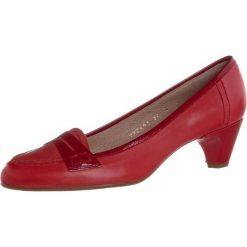 Lodi Czółenka rojo. Czerwone buty ślubne damskie Lodi, z materiału. Za 799,00 zł.