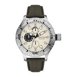 Zegarek Nautica Męski A15108G BFD 100 Multi brązowy. Brązowe zegarki męskie Nautica. Za 387,64 zł.