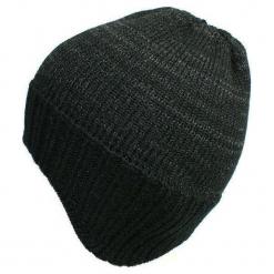 Czapka męska czarna (CZ 165C). Czarne czapki zimowe męskie Proman. Za 36,18 zł.
