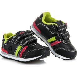 Buciki niemowlęce: American Club Czarne buciki sportowe