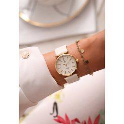 Biało-Złoty Zegarek Classic Timer. Białe zegarki damskie other, złote. Za 29,99 zł.