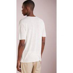 Nuur GIROCOLLO SEAMLESS Tshirt basic white. Białe t-shirty męskie Nuur, m, ze lnu. Za 839,00 zł.