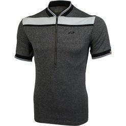 "T-shirty męskie: Koszulka kolarska ""Flinton"" w kolorze szarym"