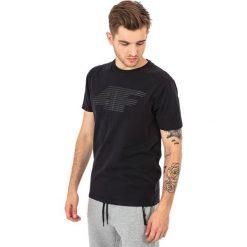 4f Koszulka męska czarny r. M (H4Z17-TSM005). Czarne koszulki sportowe męskie 4f, m. Za 25,55 zł.