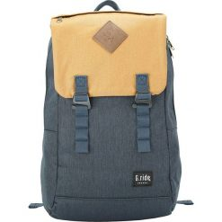 Plecaki męskie: Plecak w kolorze granatowo-beżowym – 35 x 49 x 15 cm