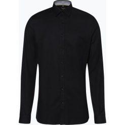 OLYMP No. Six - Koszula męska łatwa w prasowaniu – Extralange Ärmel, czarny. Czarne koszule męskie non-iron marki Cropp, l. Za 249,95 zł.