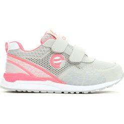 Buty sportowe dziewczęce: Szaro-Różowe Buty Sportowe Plumy