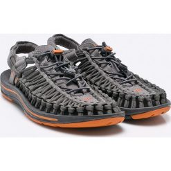 Keen - Sandały Unek Flat. Szare sandały męskie Keen, z gumy, z okrągłym noskiem. W wyprzedaży za 359,90 zł.