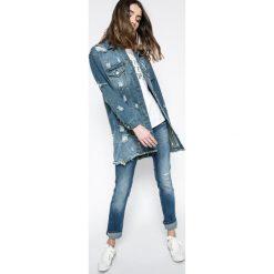 Pepe Jeans - Jeansy Venus. Niebieskie proste jeansy damskie marki Pepe Jeans, z obniżonym stanem. W wyprzedaży za 379,90 zł.
