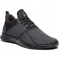 Buty Reebok - Astroride Strike CN5307 Black/Ash Grey. Szare buty do biegania damskie marki Reebok, z materiału. W wyprzedaży za 209,00 zł.