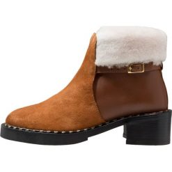 Botki damskie: another project Ankle boot tan